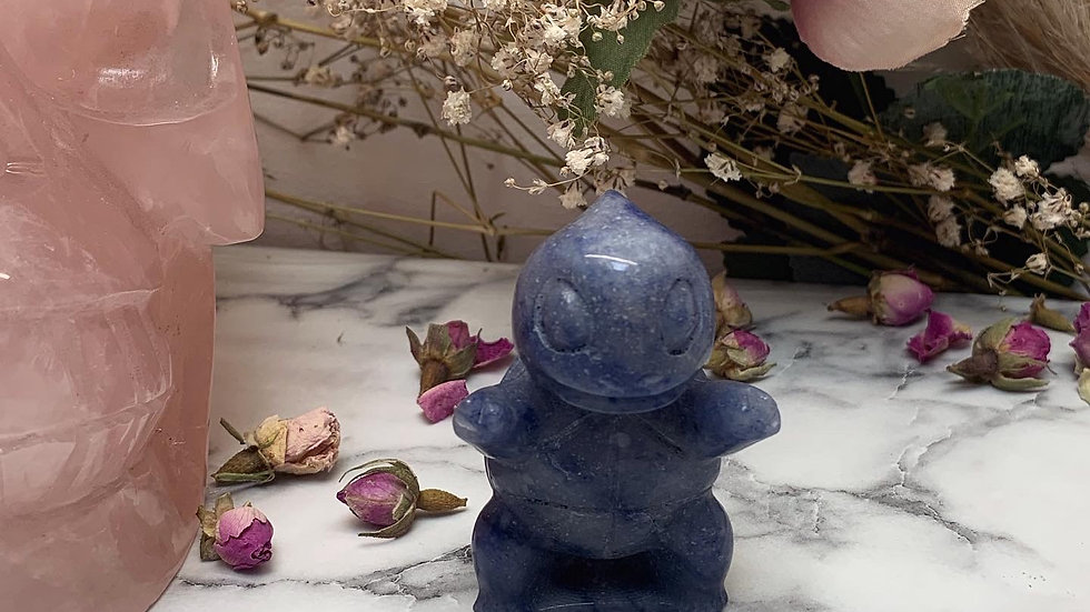 Pokemon Squirtle Crystal Carving
