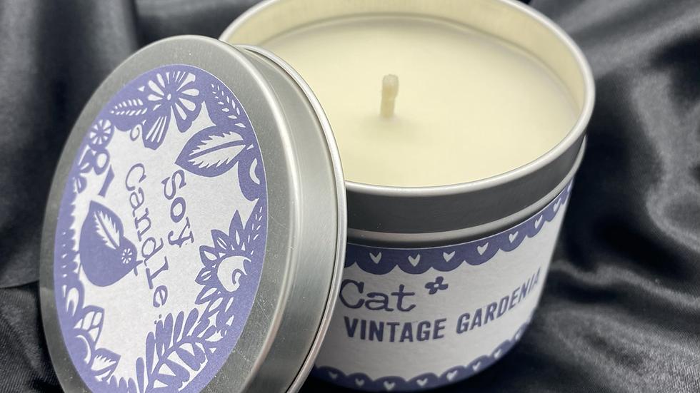 Vintage Gardenia - Soy Wax Candle