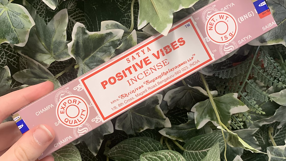 Positive Vibes Incense