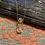 Thumbnail: Clear Quartz Perfume Bottle Necklace