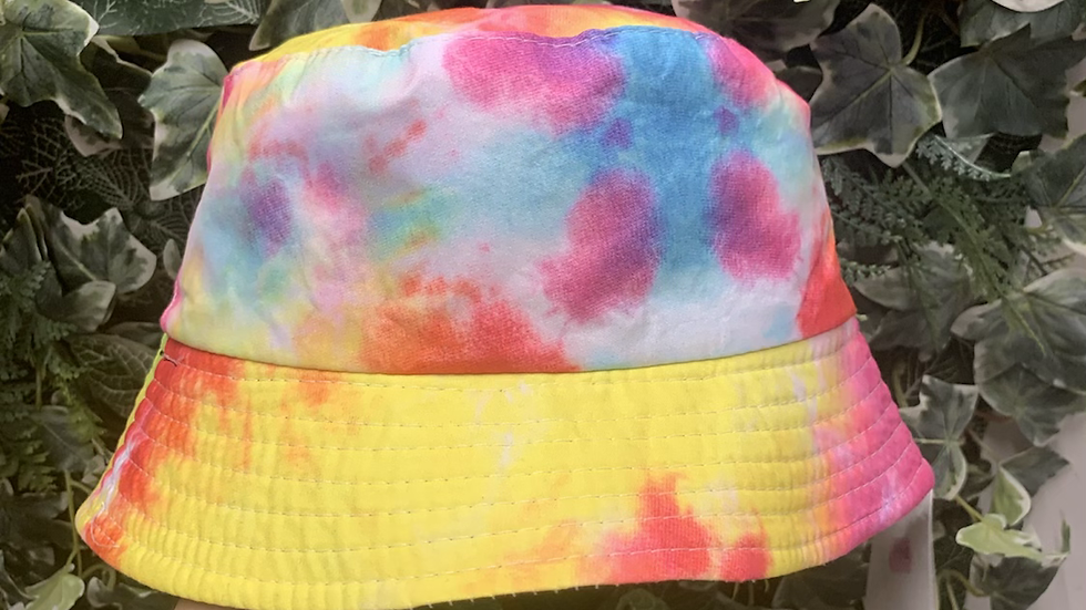Multicoloured Bucket Hat