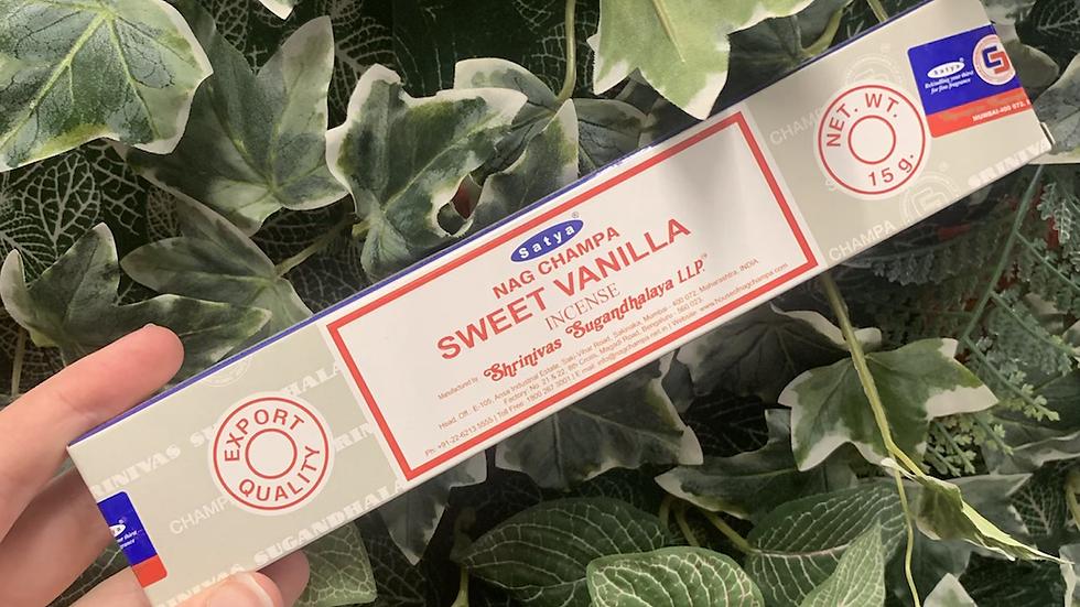 Sweet Vanilla Incense