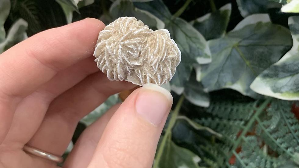 Selenite Rose Piece