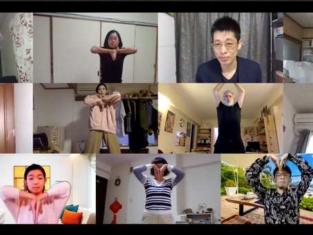 « The Secrets of Laughter » Master Class online Tokyo via Zoom