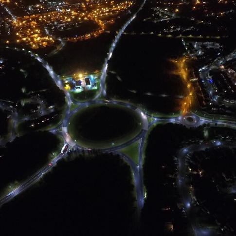 Irvine at Night