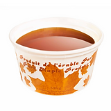 Pure maple taffy
