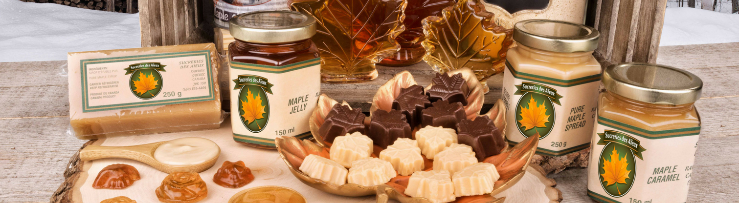 Pure maple syrup products