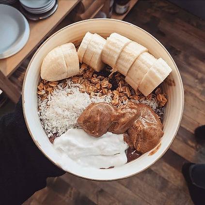 Our Cacao Acai Bowl, the deceivingly gui