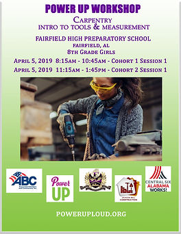 Fairfield Carpentry and intro to tools F