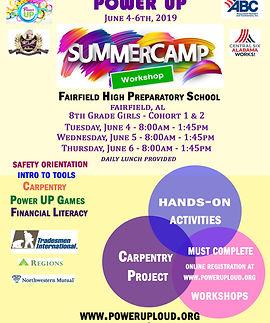 PU FAIRFIELD SUMMER CAMP FLYER June 4 to