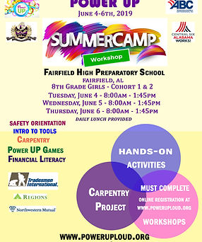 PU FAIRFIELD SUMMER CAMP FLYER June 4 to