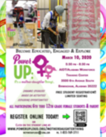 MDT Student Flyer March 10 2020 Power UP