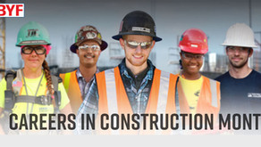 Careers in Construction Month...