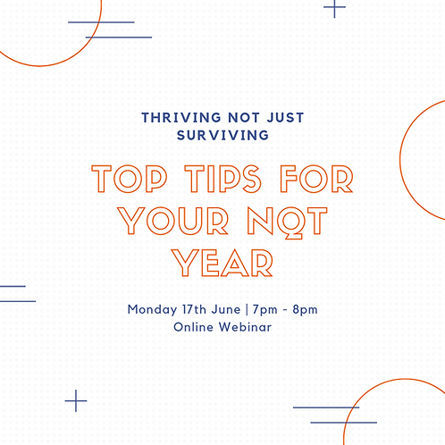 From surviving to thriving: Top tips for your NQT year