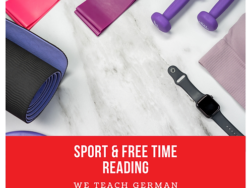 Sport & Free Time Reading