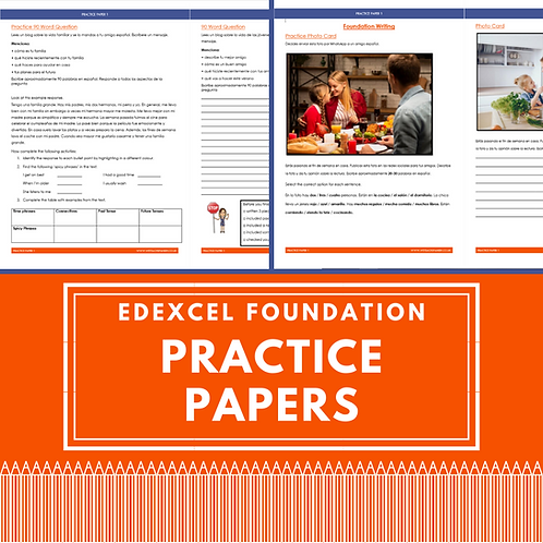 Edexcel Practice Foundation Papers