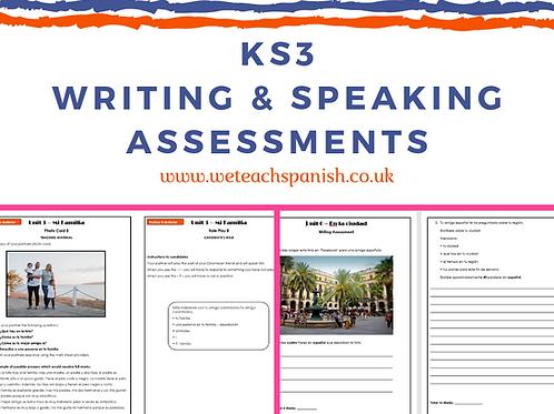 KS3 Writing & Speaking Assessments