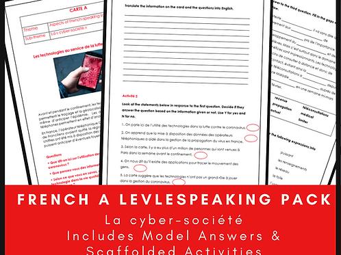 Speaking Pack - La cyber-société