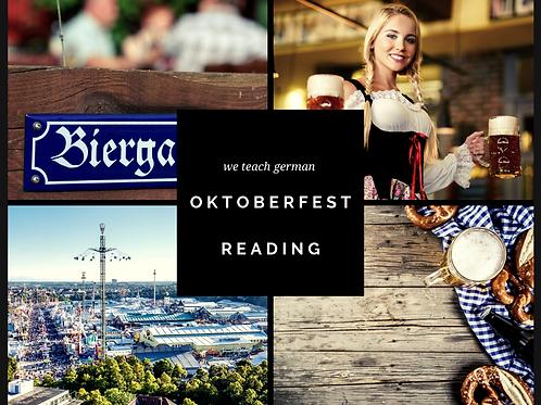 Oktoberfest Reading
