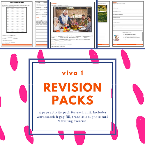 Viva 1 - Revision Packs