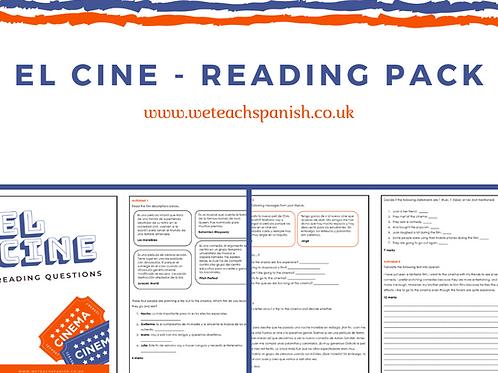 El Cine - Reading Pack