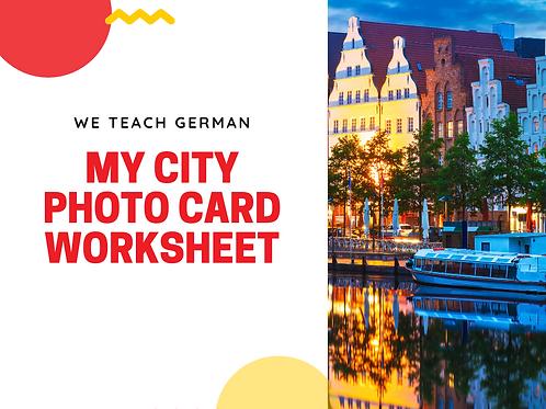My City - Photo Card