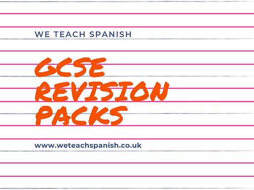 GCSE Revision Packs