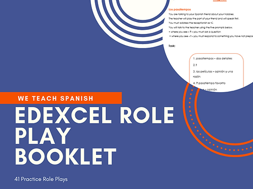 41 EDEXCEL Practice Role Play Cards