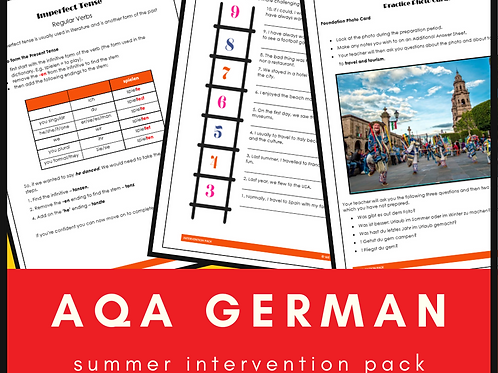 German AQA Intervention Pack