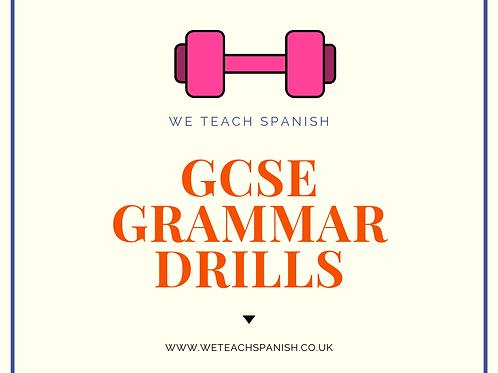 GCSE Grammar Drills