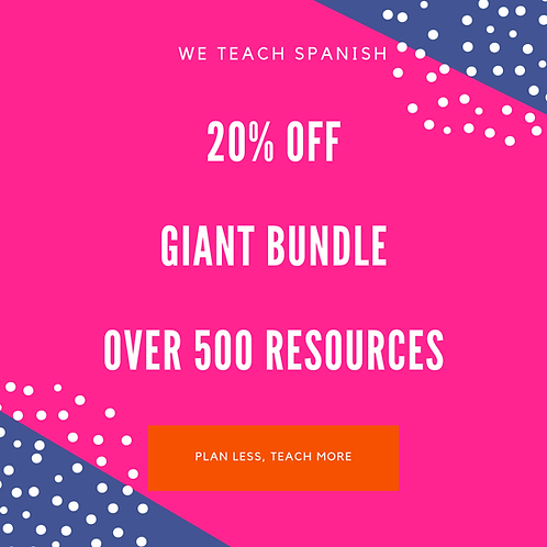 Giant Bundle - Over 500 Resources