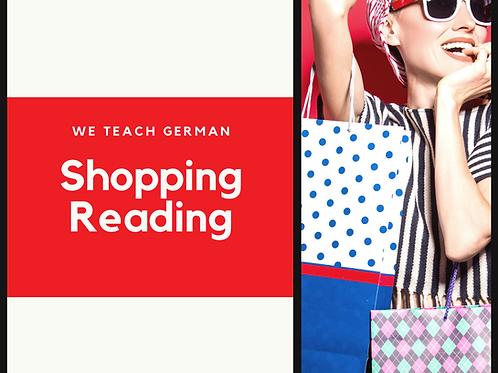 Shopping - Reading