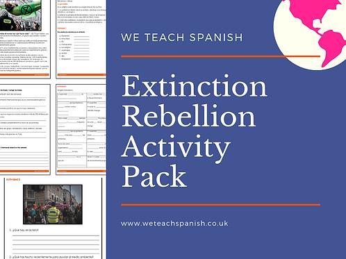 Extinction Rebellion - Activity Pack