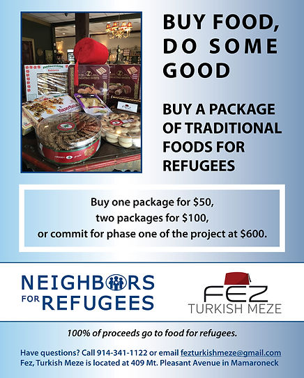 Neighbors for Refugees Turkish Meze (3).