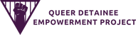 Queer Detainee Empowerment Project logo