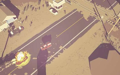 Vehicle Exploding | Dead Static Drive Screenshot