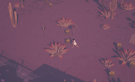 Character Running | Dead Static Drive Screenshot