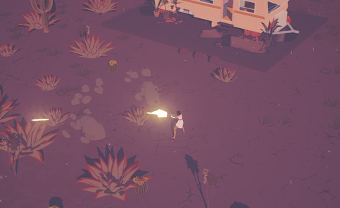 Character Under Attack | Dead Static Drive Screenshot