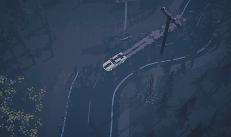 Driving in the Rain | Dead Static Drive Screenshot
