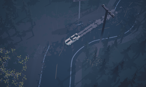 Driving in the Rain | Dead Static Drive Screenshot