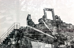 Lost Temple B&W