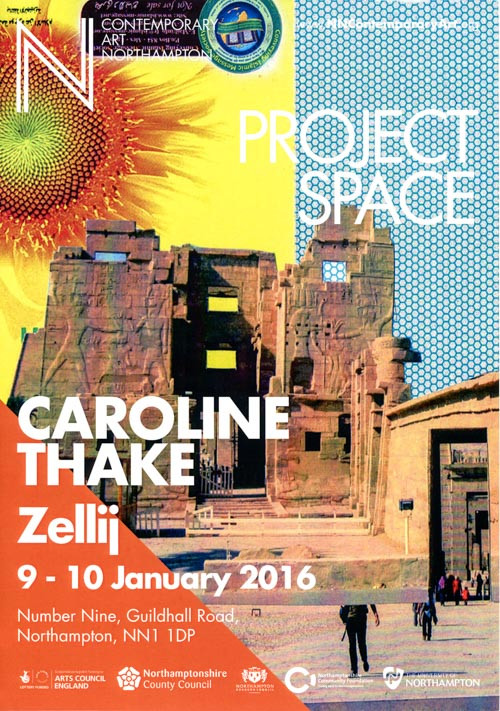 Zellij, NN Contemporary Project Space