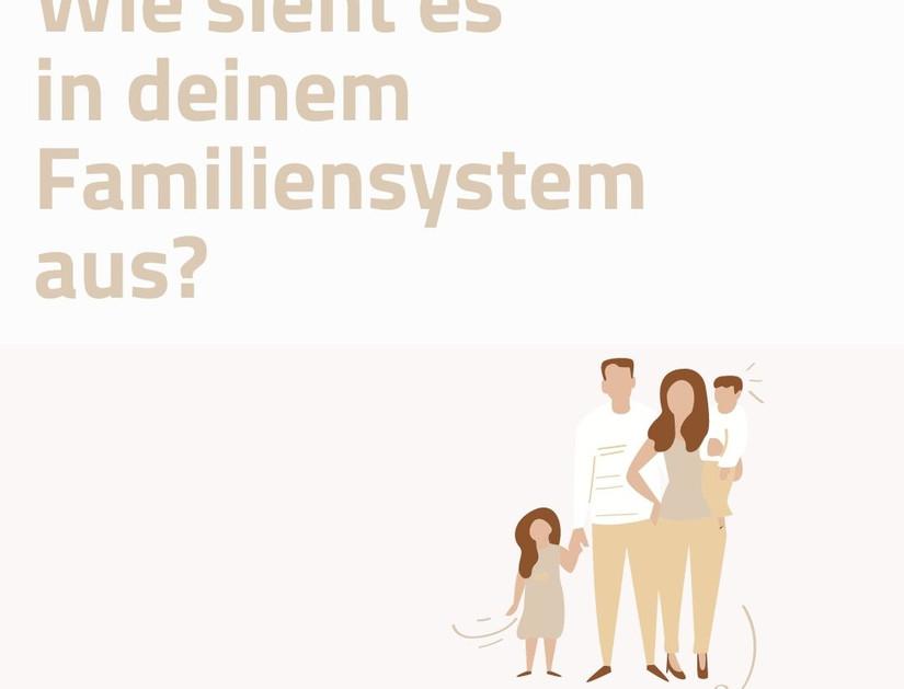 WIE SIEHT ES IN DEINEM FAMILIENSYSTEM AUS?
