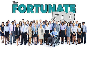 Members of the Fortunate 500.