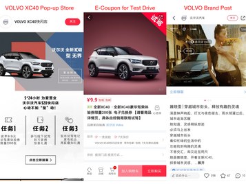 VOLVO's Pop-up Store on RED