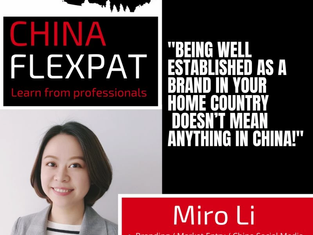 Podcast with China Flexpat