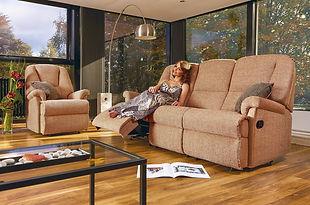 Sherborne Milburn Recliner Sofa