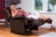 Sherborne Malvern Leather Recliner Sofa