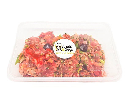 Raw Beef + Chicken Meals For 40-60kg Dogs