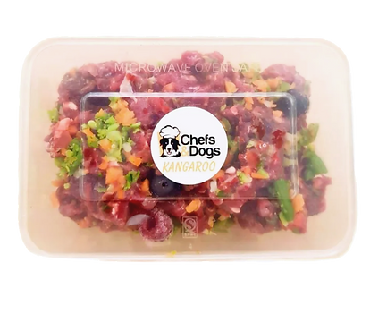 Raw Kangaroo Meals For 40-60kg Dogs
